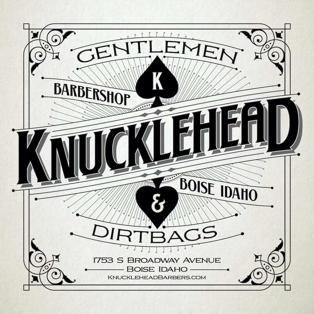 Knucklehead Barbershop Mobile Banner